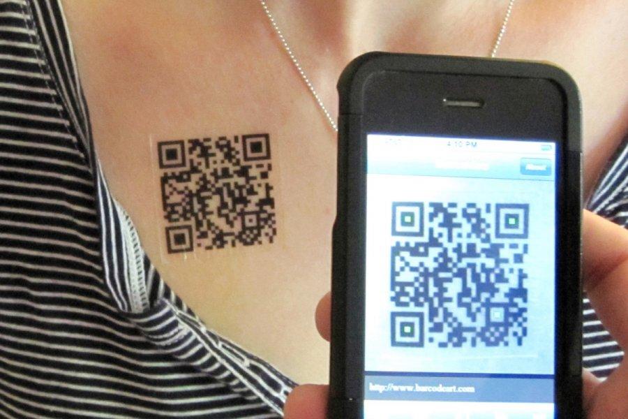 Жители Москвы смогут пройти в рестораны по татуировкам с QR-кодом »